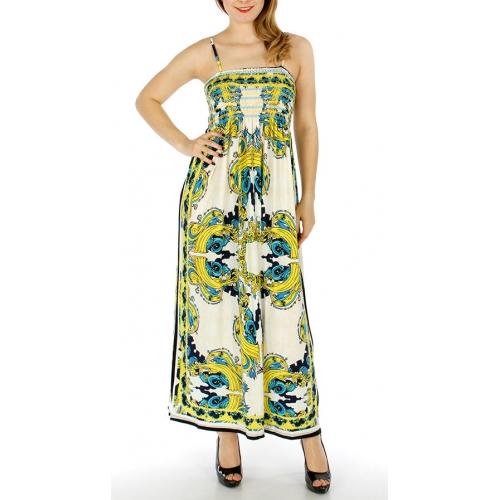 Wholesale WA00 Scrunch top nouveau long dress Grey