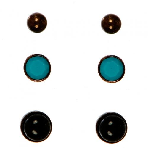 Wholesale N38E Brass Stud Earrings BCPBKTQ