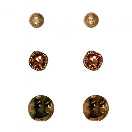 Wholesale N30D Simple Stud Earrings GPE