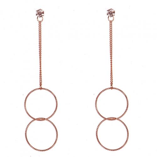 Wholesale N36E Long Drop Earrings RGCL