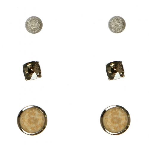 Wholesale N36E Faux Stone Set Earrings RBDWT