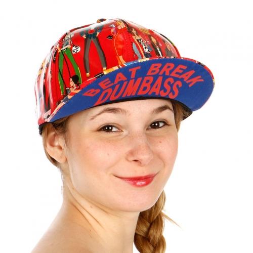 Wholesale R33A Beat Break Snapback Hat RED