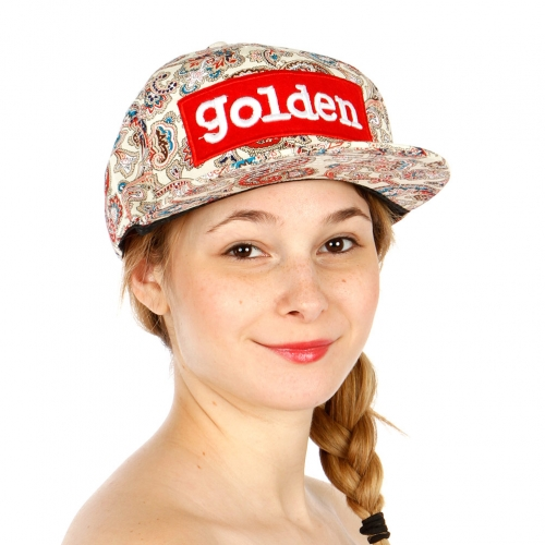 Wholesale R62C Paisley Print Snapback Hat WHRED