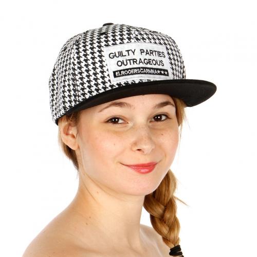 Wholesale S53A Message Guilty Party Snapback Cap BKWHT