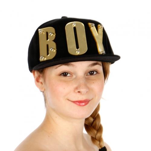 Wholesale T24D Boy Snapback Hat BKGOD