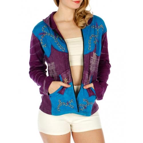 Wholesale G35E Vintage Style Hoodie Purple