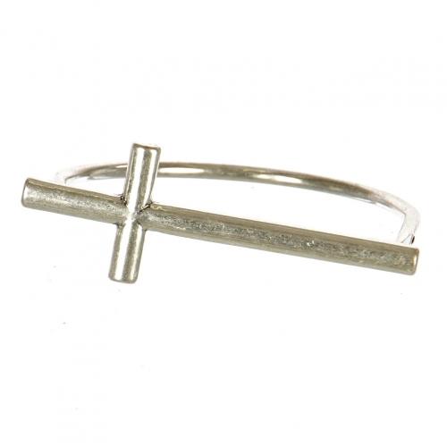Wholesale M11B Sideways Cross Bracelet SB