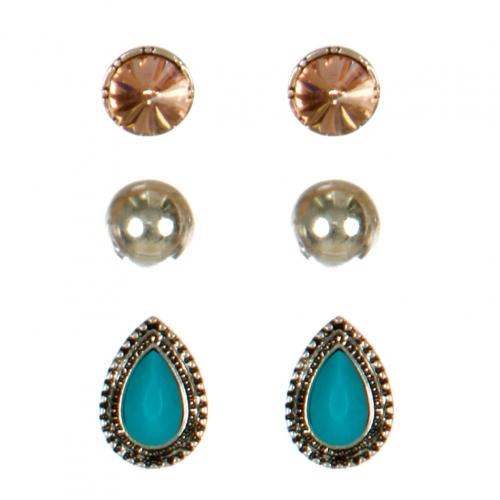 Wholesale M08E Mixed Stud earring Sets BSTC