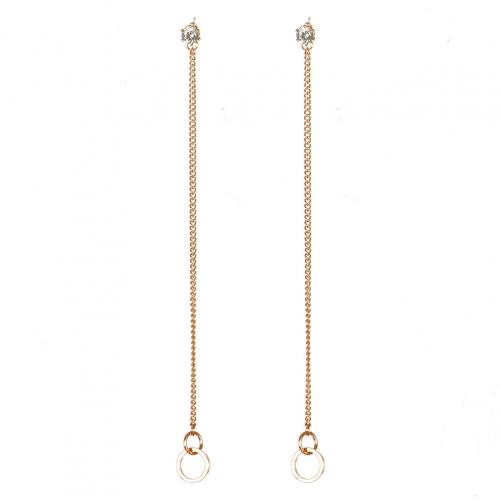 Wholesale M08A Drop Chain Earrings RGCL