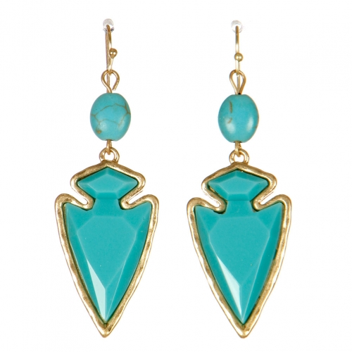 Wholesale M15D Iridescent Drop Earrings WGTQ