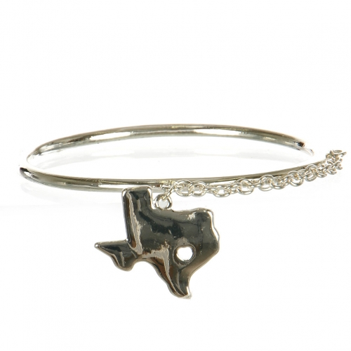 Wholesale L29B Texas Map Classic Metal Bangle S