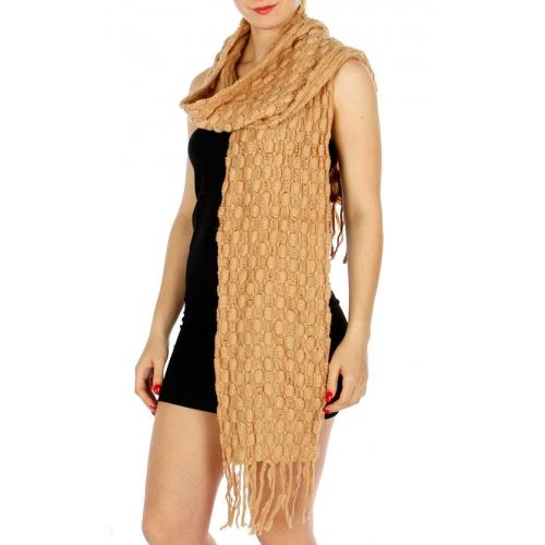 Wholesale Q58 Oblong knit scarf CM