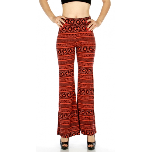 Wholesale A12 Multi Print Palazzo Pants CO