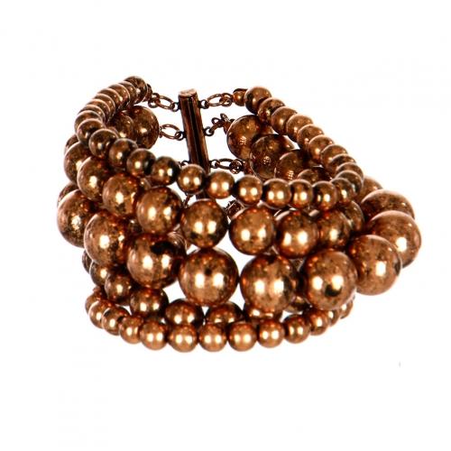 Wholesale L07D Multi Layer Stone Bead Bracelet COP