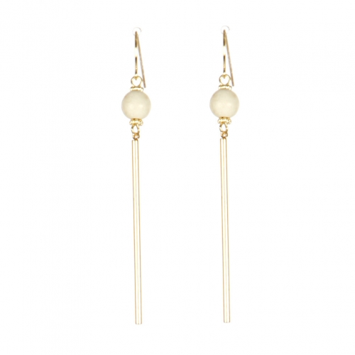Wholesale M08C Faux Stone Bar Drop Earring IV