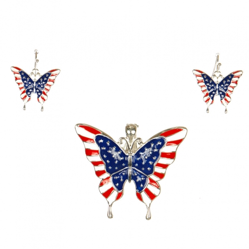 wholesale N30E Butterfly w/Flag Design Magnetic Function SMX