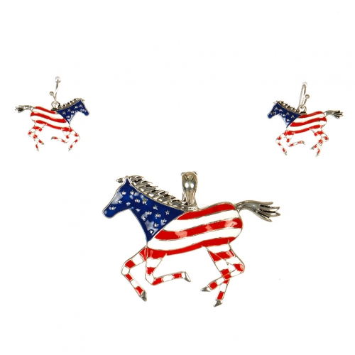 wholesale N30E Mustang w/Flag Design Magnetic Function ASMX