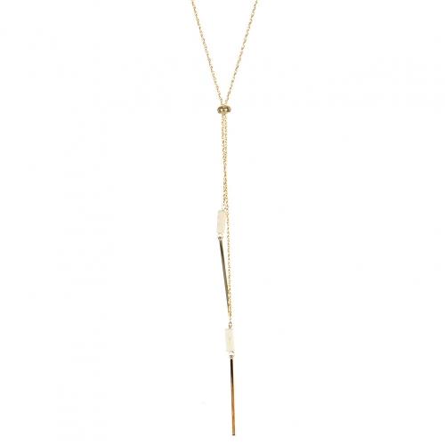 Wholesale M05A Bar Drop Chain Lariat Necklace IV