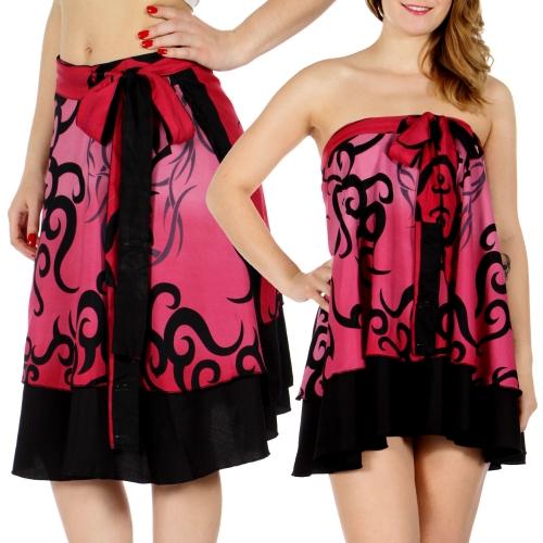Wholesale N14 Chinese Writing Sari Skirts/Top HPK