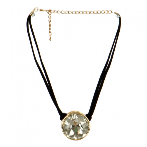 Wholesale N31B Big Stone Choker Necklace GDCLR
