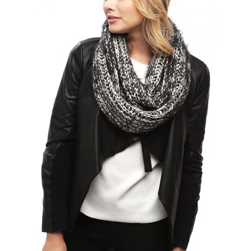 Wholesale R03B Knit Infinity Scarf BG