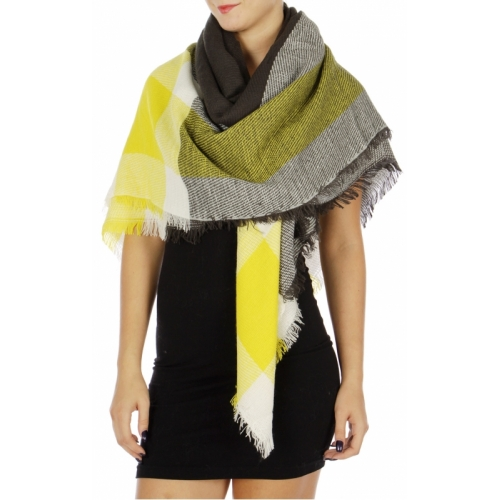 Wholesale O01A Fashionable Woven Blanket Scarf CH1