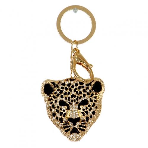 Wholesale L38B Jaguar Cutout Keychain GD