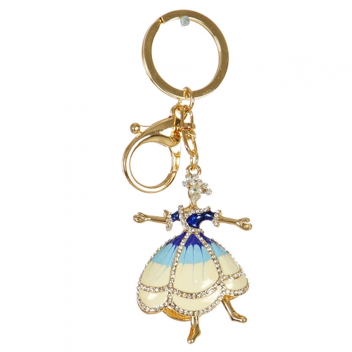 Wholesale M02E Dancing Lady Keychain GD