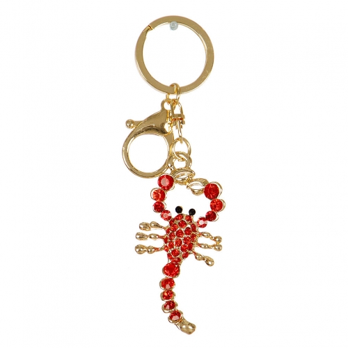 Wholesale M13D Studded Scorpion Keychain GD