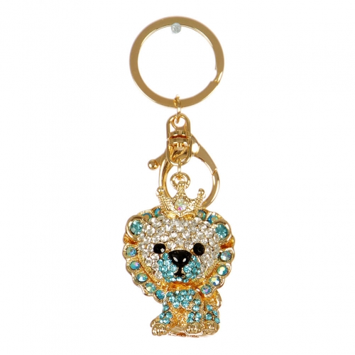 Wholesale M13D Studded King Doggy Keychain GD