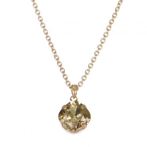 wholesale WA00 Glass Stone 16'' Necklace WGB