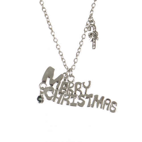 Wholesale WA00 Merry Christmas pendant necklace SV
