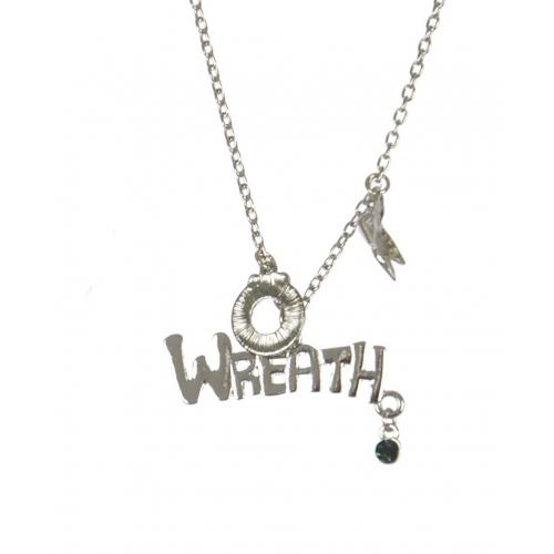 Wholesale WA00 Wreath Christmas pendant necklace SV