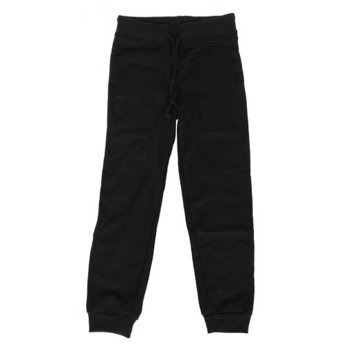 Wholesale E35E Girls' solid fleece jogger Black