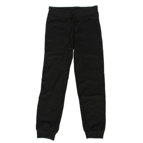 Wholesale E35E Girls' solid fleece jogger Black