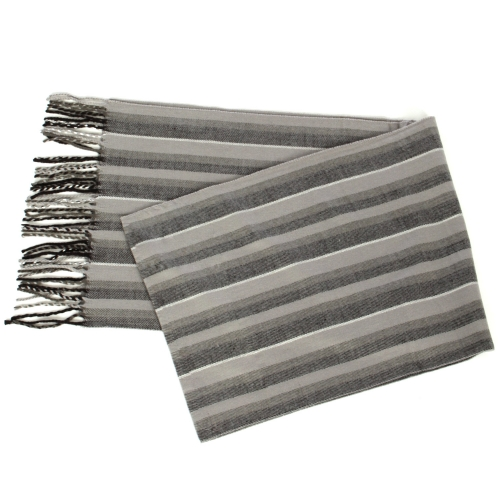 {[en]:Wholesale O58A Chevron cashmere feel scarf