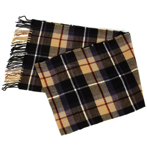 {[en]:Wholesale O58C Plaid cashmere feel scarf