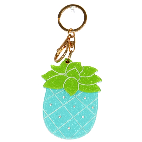 Wholesale WA00 Pineapple mirror keychain GBL