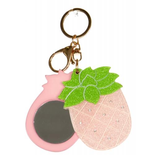 Wholesale WA00 Pineapple mirror keychain GPK