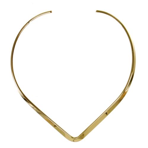 Wholesale WA00 V shape chic collar chocker BG