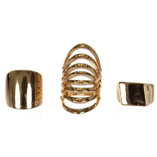 Wholesale WA00 Three simple rings set G