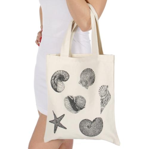Wholesale T25C Seashells canvas bag