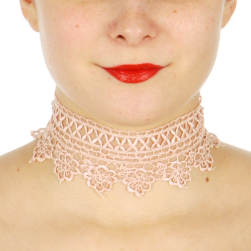 Wholesale M30A Two floral crochet choker set GBS