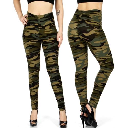 Wholesale E03E Camouflage print leggings