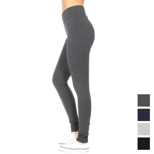 Wholesale A23B Comfort waist cotton Active pants  Black Plus size