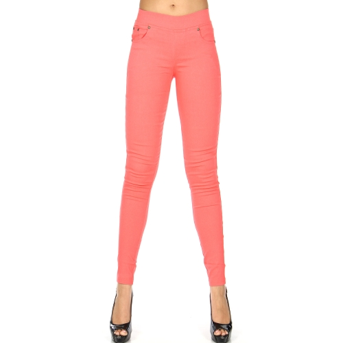 Wholesale E31A Stretch twill pants leggings Grey