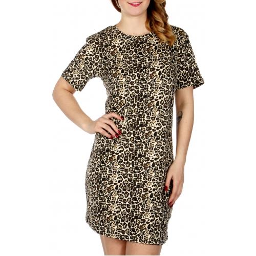 Wholesale F13 Leopard print short sleeve nightshirt Animal