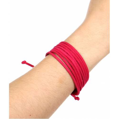 Wholesale WA00 Multi strands suede bracelet GDAPC
