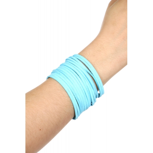 Wholesale WA00 Multi layer suede bracelet GDAQA