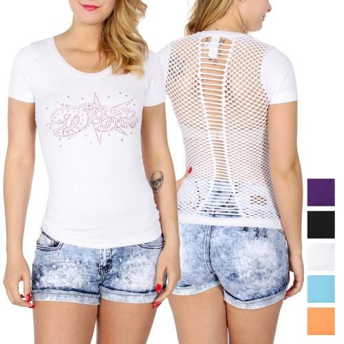 Wholesale O01C DIVA GIRL sexy back t-shirt